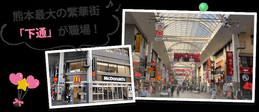 熊本の勤務地について